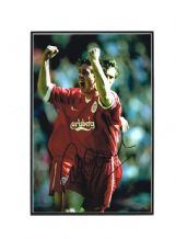 Robbie Fowler Autograph Photo Signed - Liverpool